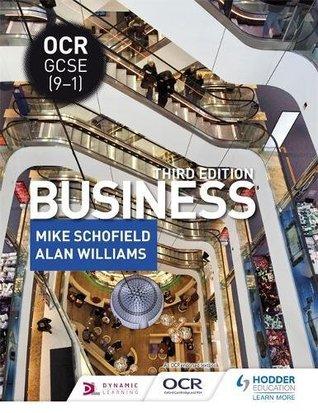 OCR GCSE (9-1) Business, Third Edition