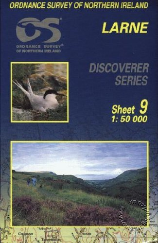 Larne (Irish Discoverer Maps) (Irish Discoverer Series)