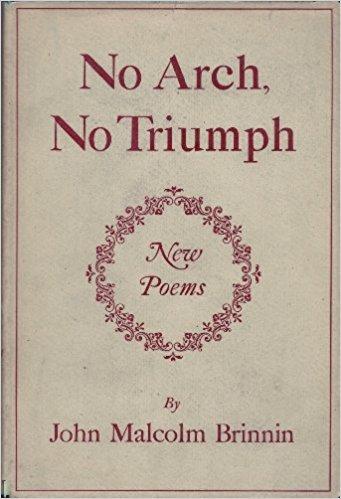 No Arch, No Triumph: New Poems