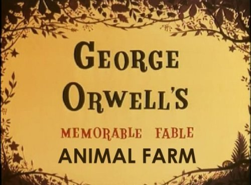 Animal Farm George Orwell World Wide Unique Media