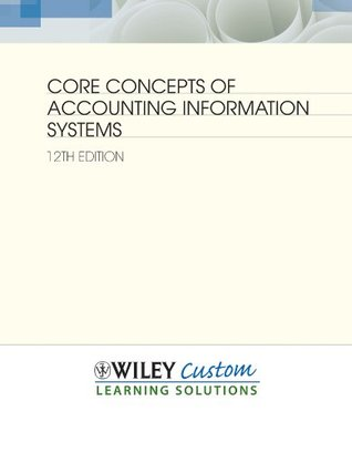 Core Concepts of Accounting Information Systems 12e