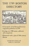The Seventeen Eighty-Nine Boston Directory
