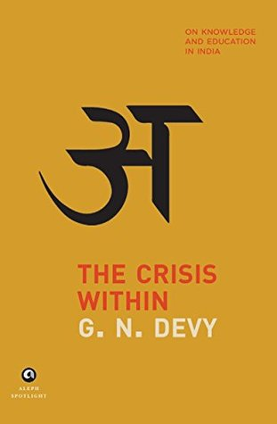 The Crisis Within by G.N. Devy