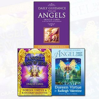 Angel Cards Collection 3 Books Bundle (Daily Guidance From Your Angels Oracle Cards,Angel Answers Oracle Cards: A 44-Card Deck and Guidebook,Angel Tarot Cards)