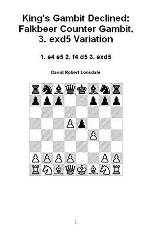 King's Gambit Declined: Falkbeer Counter Gambit, 3. exd5 Variation: 1. e4 e5 2. f4 d5 3. exd5