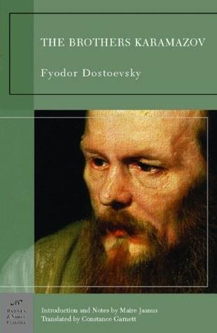 The Brothers Karamazov by Fyodor Dostoyevsky