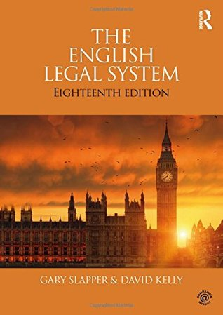 2: The English Legal System (Volume 2)