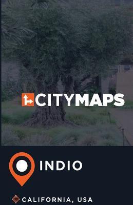 City Maps Indio California, USA