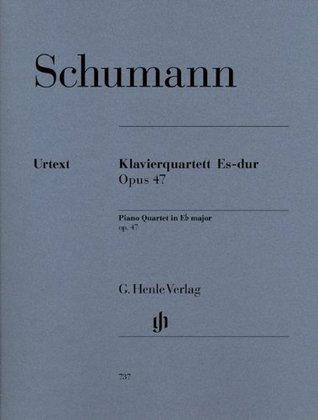 HENLE VERLAG SCHUMANN R. - PIANO QUARTET IN EB MAJOR OP. 47 Classical sheets Piano