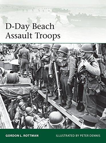 D-Day Beach Assault Troops (Elite Book 219)
