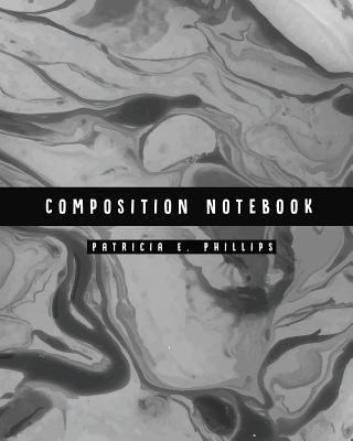 Composition Notebook: Dark Marble Notebook (8.5x11 Inches Large)