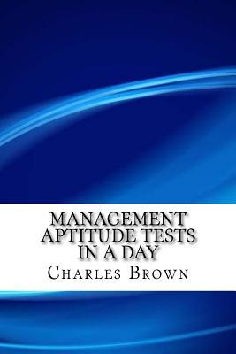 Management Aptitude Tests in a Day
