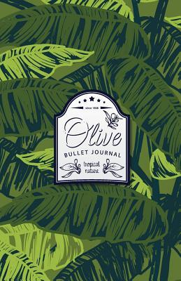 Olive Bullet Journal: Tropical Dotted Bullet Journal - 130 Quality Pages (Vol 2)