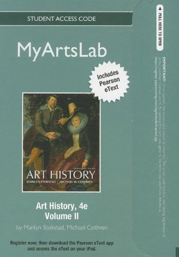 NEW MyArtsLab with Pearson eText -- Standalone Access Card -- for Art History, Volume 2 (4th Edition)