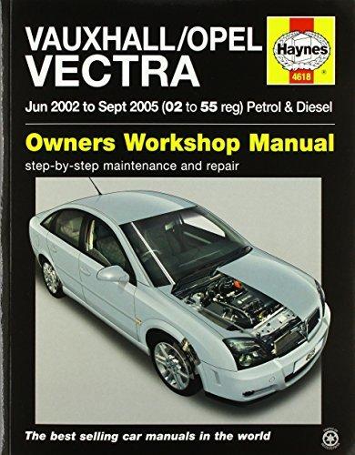 Vauxhall/Opel Vectra Petrol & Diesel (June 02 - Sept 05) Haynes Repair Manual (Haynes Service and Repair Manuals)