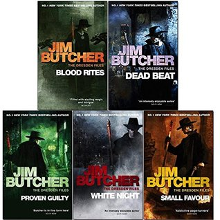 Jim Butcher Dresden Files Series 2 : 5 Books Collection