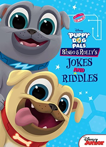 Puppy Dog Pals: Bingo and Rolly''s Jokes and Riddles
