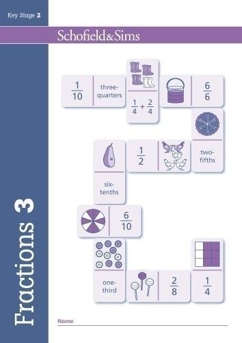 Fractions, Decimals and Percentages Book 3: Year 3, Ages 7-8