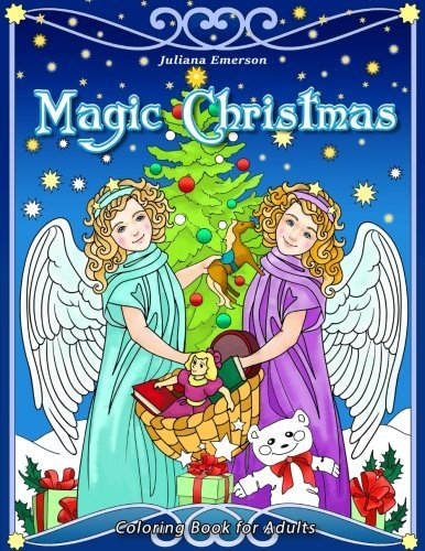 Magic Christmas: Coloring Book for Adults