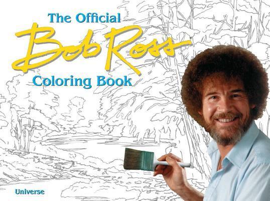 The Bob Ross Coloring Book