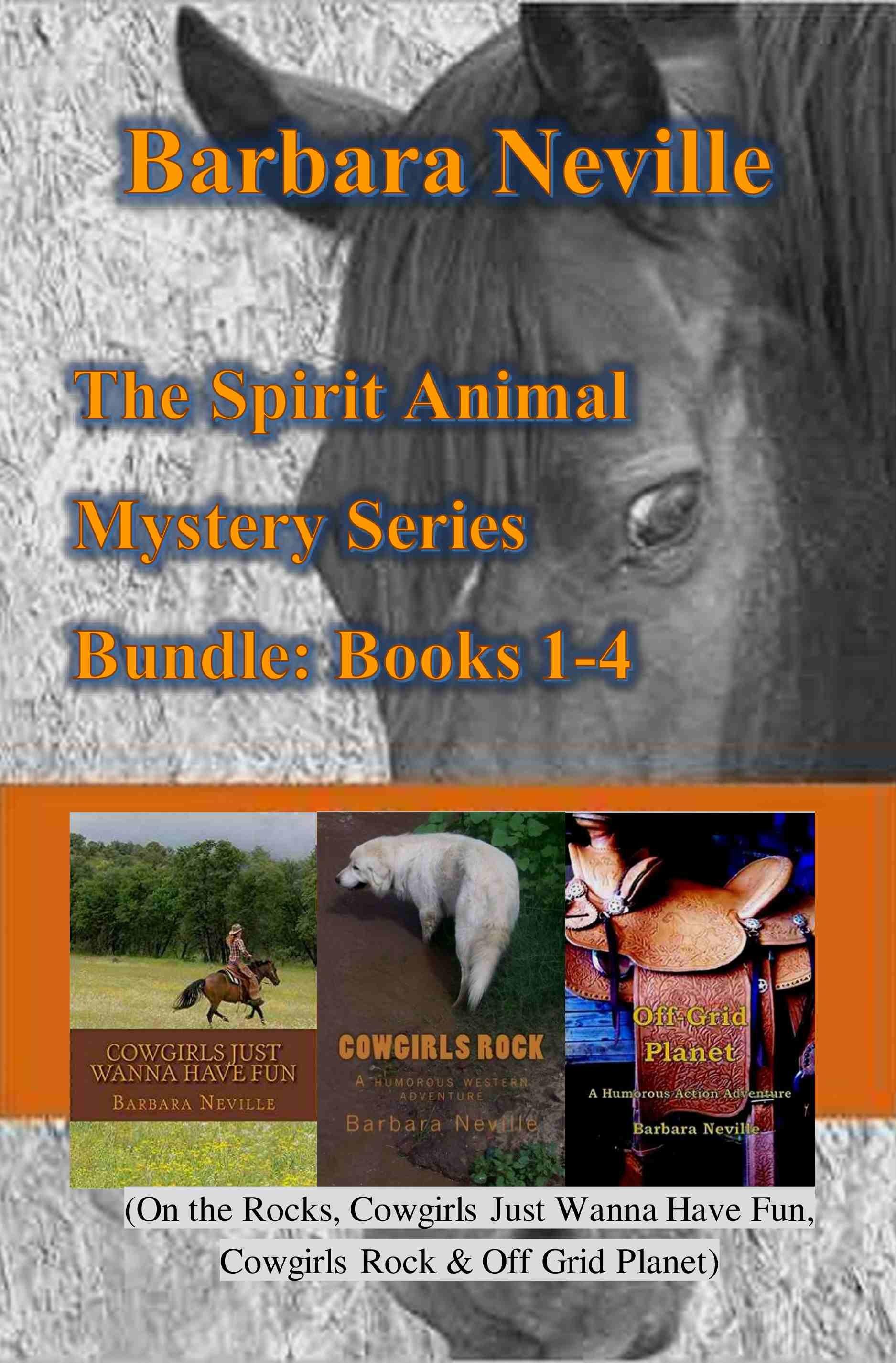 The Spirit Animal Mystery Series Bundle: Books 1-4