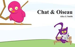 """Livre pour bébé: """"Chat & Oiseau"""" :"""
