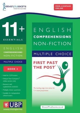 11+ Essentials English Comprehensions: Non-Fiction