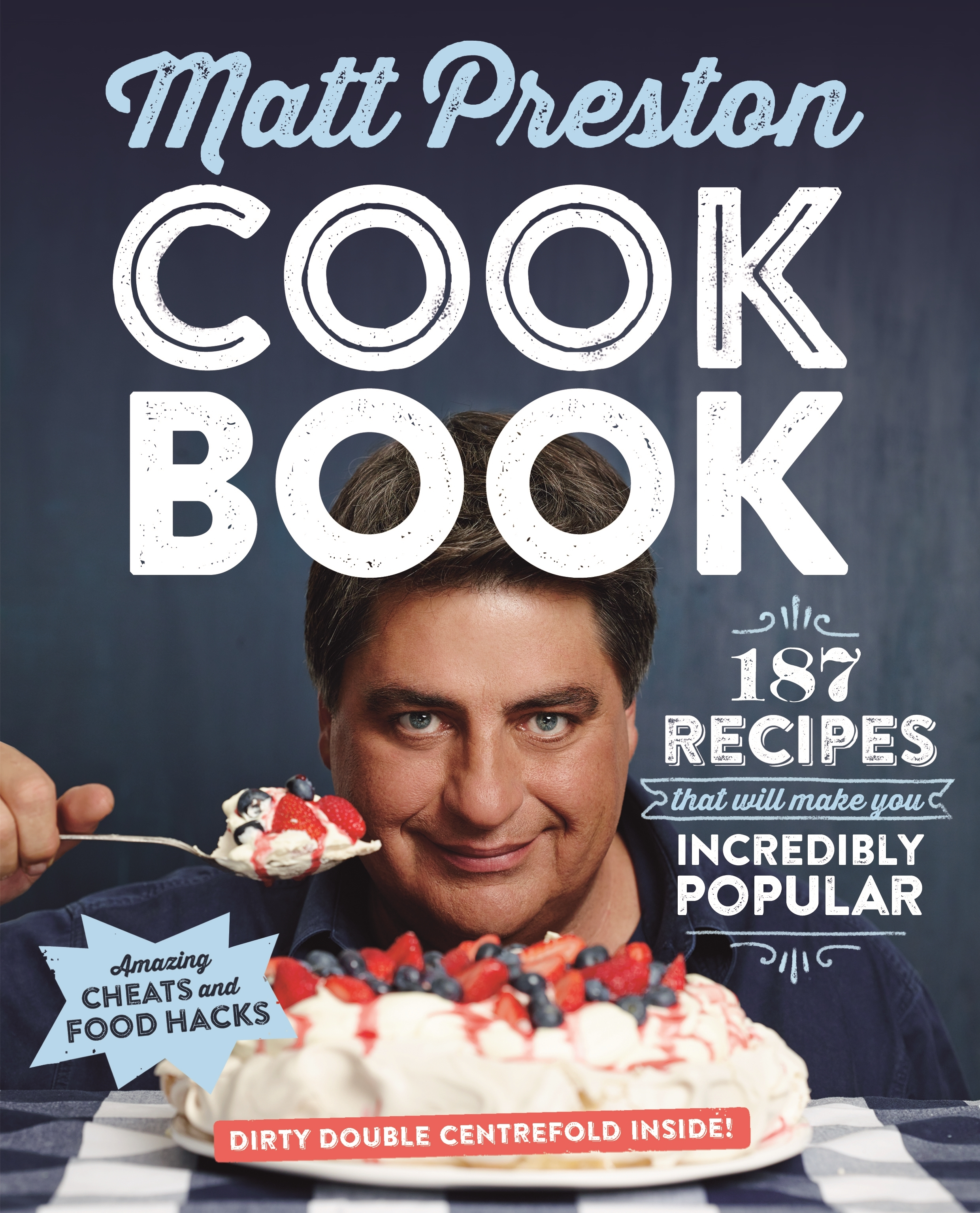 Cook Book: 187 recipes that will make you incredibly popular
