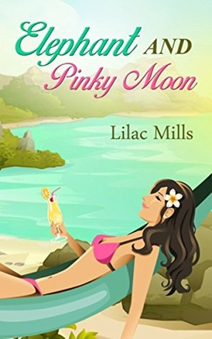 Elephant and Pinky Moon by Lilac Mills