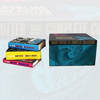 Harry Potter Boxed 7 Books Set Complete Collection By J.K Rowling