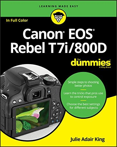 Canon EOS Rebel T7i/800D For Dummies (For Dummies