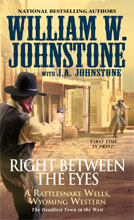 Right Between the Eyes (Rattlesnake Wells, #3)
