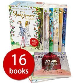 The Shakespeare Stories Collection - 16 Books