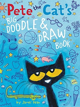 Pete the Cat's Big Doodle Draw Book