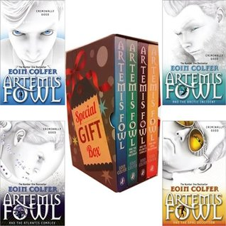 Eoin Colfer Artemis Fowl Collection Special Gift Box 4 Books Bundle