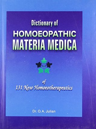 Dictionary of Homoeopathic Materia Medica