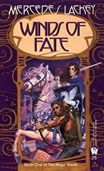 book cover: Winds of Fate by Mercedes Lackey