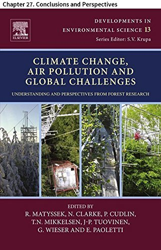Climate Change, Air Pollution and Global Challenges: Chapter 27. Conclusions and Perspectives