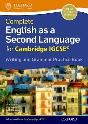 Complete English as a Second Language for Cambridge Igcse Writing and Grammar Practice Book and CD