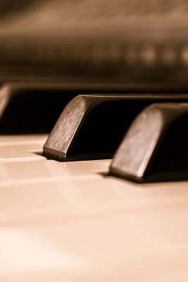 View of the Piano Keys Journal: Take Notes, Write Down Memories in This 150 Page Lined Journal