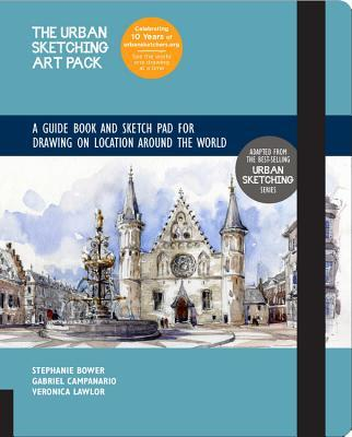 Urban Sketching Art Pack: Exercise Book and Sketchpad for Drawing on Location Around the World – Adapted from the bestselling Urban Sketching series