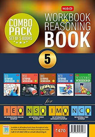 Class 5: Work Book and Reasoning Book Combo for NSO-IMO-IEO-NCO