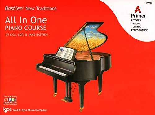 WP450 - Bastien New Traditions - All In One Piano Course - Primer A