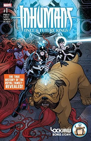Inhumans by Christopher J. Priest