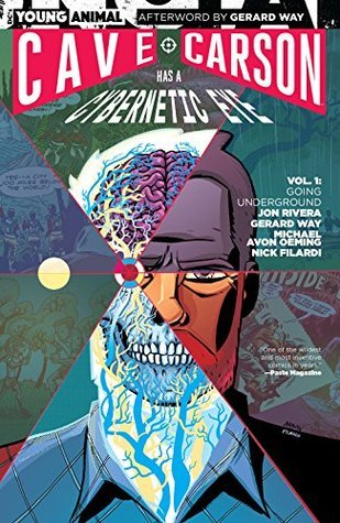 Cave carson has a cybernetic eye vol 1 going underground by 33233051 fandeluxe Image collections