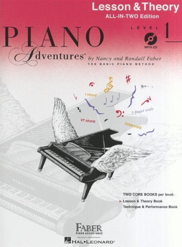 Piano Adventures: Lesson And Theory Book - Level 1 (Book/CD)