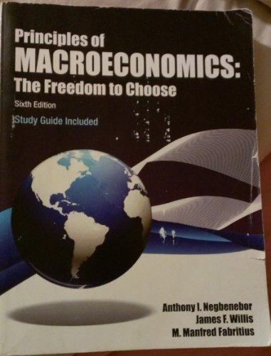 Principles of Macroeconomics The Freedom to Choose
