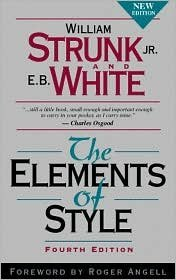 The Elements of Style, 4th (forth) edition