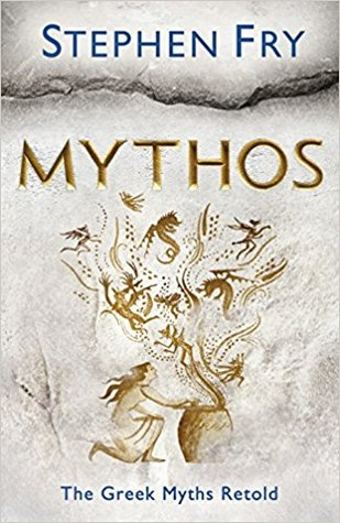 Mythos, by Stephen Fry, cover image depicting Pandora opening her box