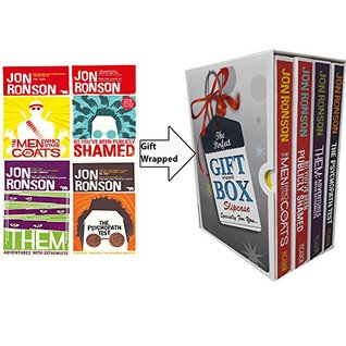 Jon Ronson Collection 4 Books Bundle Gift Wrapped Slipcase Specially For You